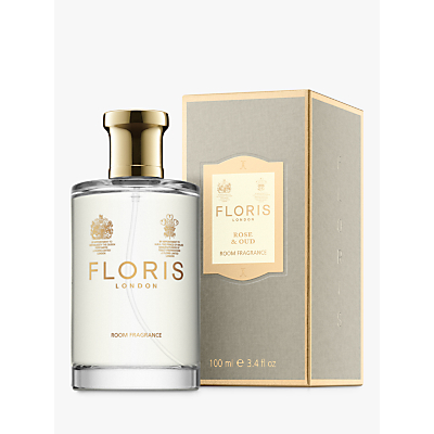 Image of Floris Rose & Oud Home Fragrance, 100ml