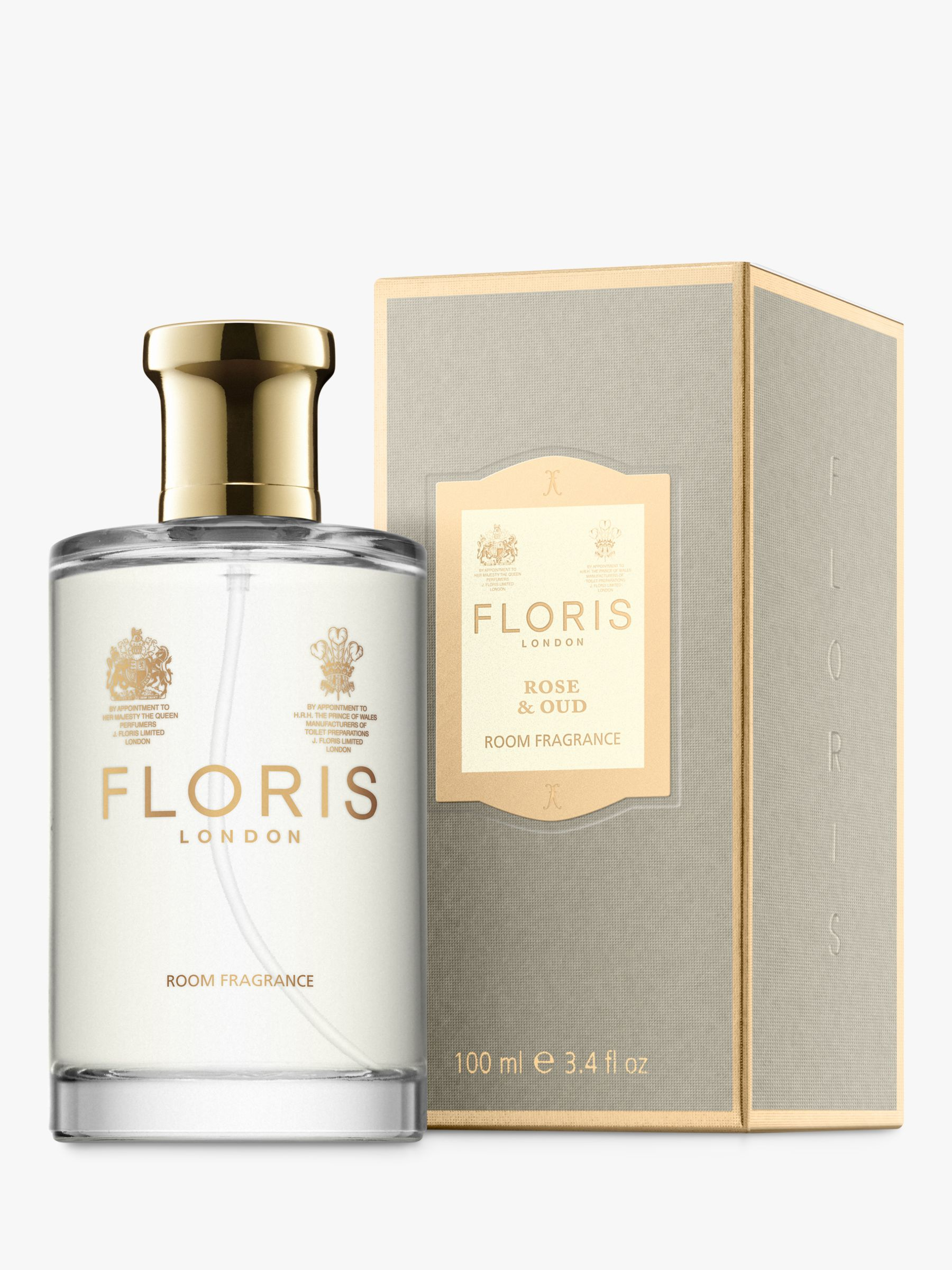 Floris Floris Rose & Oud Home Fragrance, 100ml
