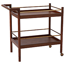 Buy west elm Mid-Century Bar Cart Online at johnlewis.com