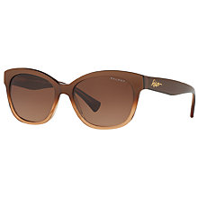 Buy Ralph RA5218 Polarised Cat's Eye Sunglasses Online at johnlewis.com