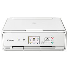 Buy Canon PIXMA TS5051 All-in-One Wireless Wi-Fi Printer, White Online at johnlewis.com