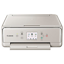 Buy Canon PIXMA TS6052 All-in-One Wireless Wi-Fi Printer with Touch Screen, Grey Online at johnlewis.com