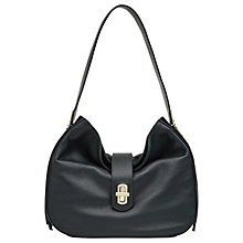 Buy Reiss Roselle Tassel Detail Bag, Racing Green Online at johnlewis.com
