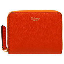 Buy Mulberry Small Zip Around Purse Online at johnlewis.com