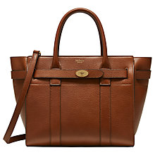 Buy Mulberry Bayswater Small Zipped Leather Bag Online at johnlewis.com