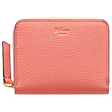 Buy Mulberry Classic Grain Small Small Zip Around Purse Online at johnlewis.com