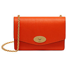 Buy Mulberry Darley Small Grain Leather Bag Online at johnlewis.com
