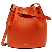 Buy Mulberry Abbey Small Classic Grain Bucket Bag Online at johnlewis.com