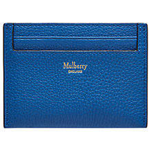 Buy Mulberry Continental Leather Credit Card Slip Online at johnlewis.com