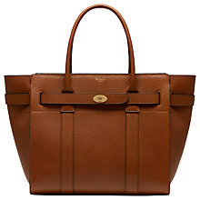 Buy Mulberry Bayswater Zipped Leather Bag Online at johnlewis.com