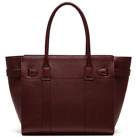 Buy Mulberry Bayswater Zipped Leather Bag