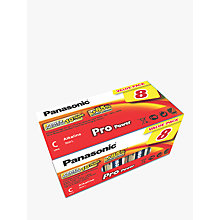 Buy Panasonic Pro Power LR14 Alkaline C Battery, Pack of 8 Online at johnlewis.com