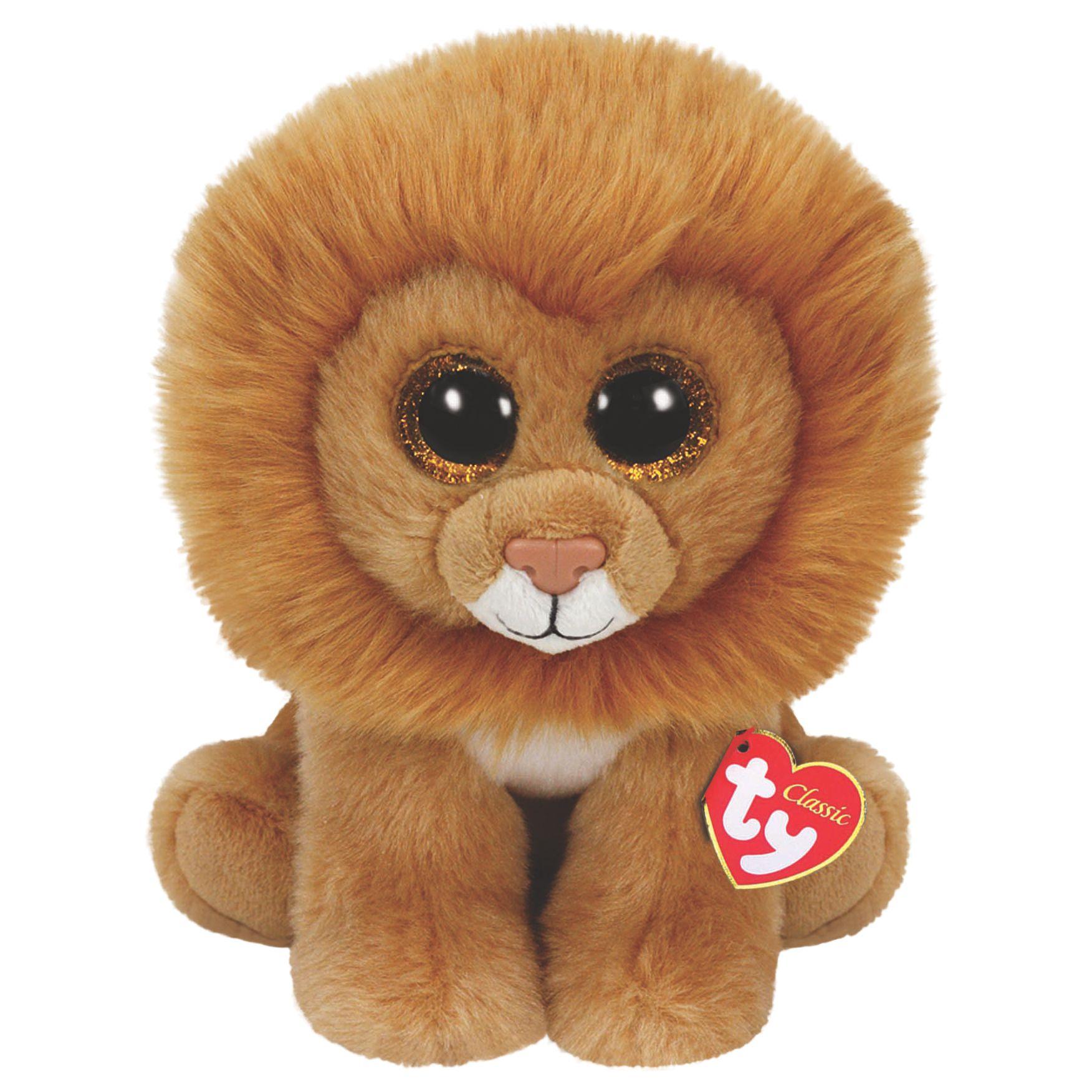 Ty Ty Beanie Louie Classic Soft Toy, 24cm