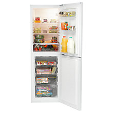 Buy Indesit DAA55NF1 Freestading Fridge Freezer, A+ Energy Rating, 55cm Wide, White Online at johnlewis.com