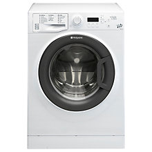 Buy Hotpoint Signature WMSIF8437BC Freestanding Washing Machine, 8kg Load, A+++ Energy Rating, 1400rpm Spin, White Online at johnlewis.com