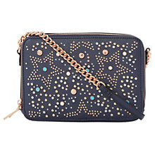Buy Dune Dazzler Star Across Body Bag, Navy Online at johnlewis.com