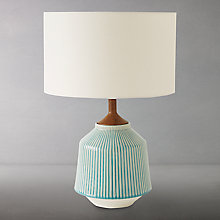 Buy Roar + Rabbit for west elm Ripple Large Ceramic Table Lamp Online at johnlewis.com
