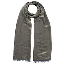 Buy East Metallic Scarf, Gold Online at johnlewis.com