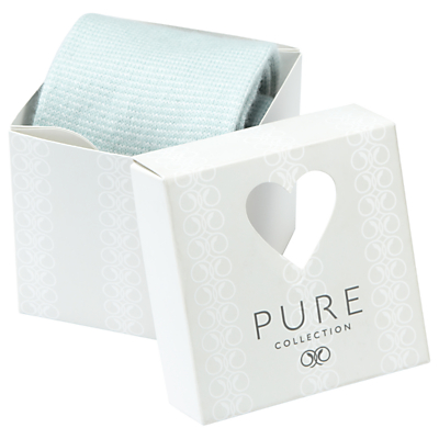 Pure Collection Aaliyah Cashmere-Blend Socks In A Box, Ice Blue/Soft White