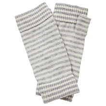 Buy Pure Collection Bree Cashmere Mittens, Heather Dove/Soft White Online at johnlewis.com