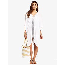 Buy Phase Eight Bella Kaftan, White Online at johnlewis.com