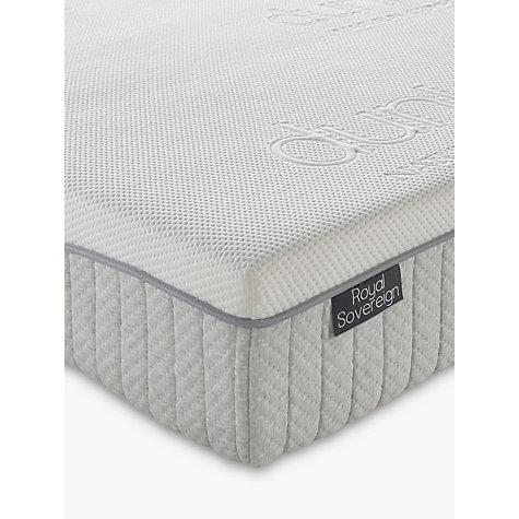 Buy dunlopillo royal sovereign latex mattress medium single john lewis - Dunlopillo 100 latex ...