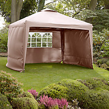 Buy LG Outdoor Hamilton 3m Pop Up Gazebo Side Walls, Taupe Online at johnlewis.com