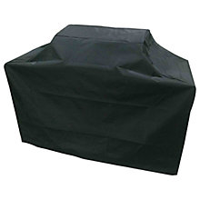 Buy John Lewis Grillstream Island BBQ Cover, Black Online at johnlewis.com
