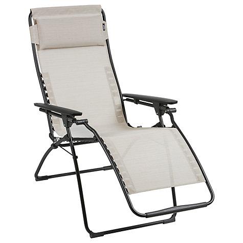 buy lafuma futura lfm3052 sunlounger john lewis. Black Bedroom Furniture Sets. Home Design Ideas