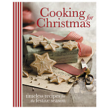 Buy Cooking For Christmas Recipe Book Online at johnlewis.com