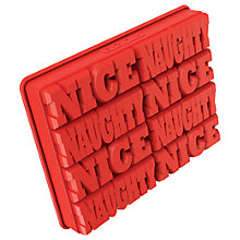 Buy Zoku Naughty / Nice Ice Cube Tray Online at johnlewis.com