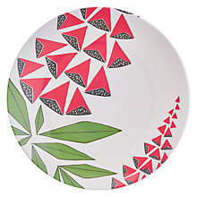 Buy MissPrint Melamine Foxglove Plate Online at johnlewis.com