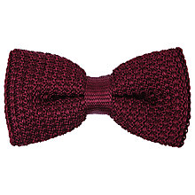 Buy Reiss Dexter Knitted Bow Tie Online at johnlewis.com
