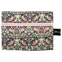 Buy House of Alistair Small Print Haberdashery Bag, Black Online at johnlewis.com