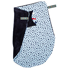 Buy Cheeky Chompers Baby Twinkle Star Blanket, Navy Online at johnlewis.com