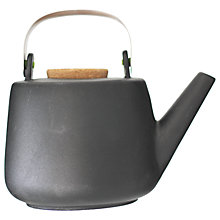 Buy VIVA Scandinavia Nicola Teapot, Black Online at johnlewis.com