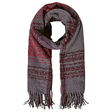 Buy White Stuff Sarah Check Scarf, Purple Online at johnlewis.com