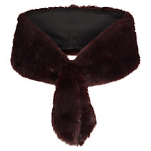 Buy Coast Marina Faux Fur Tail Stole Online at johnlewis.com
