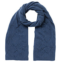 Buy East Wool-Blend Pointelle Scarf Online at johnlewis.com