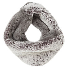 Buy Jacques Vert Faux Fur Infinity Scarf, Grey Online at johnlewis.com
