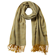Buy White Stuff Comet Scarf, Chartreuse Online at johnlewis.com