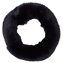 Buy White Stuff Faux Fur Snood, Navy Online at johnlewis.com