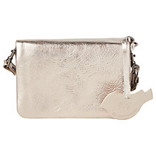 Buy White Stuff Mini Umbria Leather Bag, Pewter Online at johnlewis.com