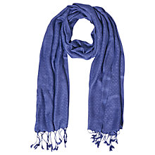 Buy White Stuff Magical Scarf, Iconic Blue Online at johnlewis.com