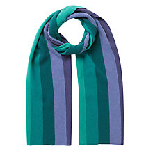 Buy East Stripe Knitted Scarf Online at johnlewis.com