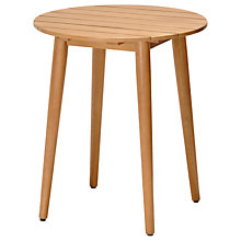 Buy John Lewis Oslo Round Bistro Table, FSC-Certified (Eucalyptus), Natural Online at johnlewis.com