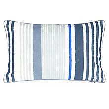 Buy John Lewis Classic Stripe Outdoor Cushion, H35 x W55cm Online at johnlewis.com