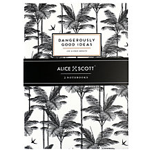 Buy Alice Scott Slim A5 Notebooks, Pack of 2 Online at johnlewis.com