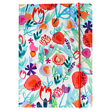 Buy Portico Flexi Orange Watercolour Notebook, A5 Online at johnlewis.com
