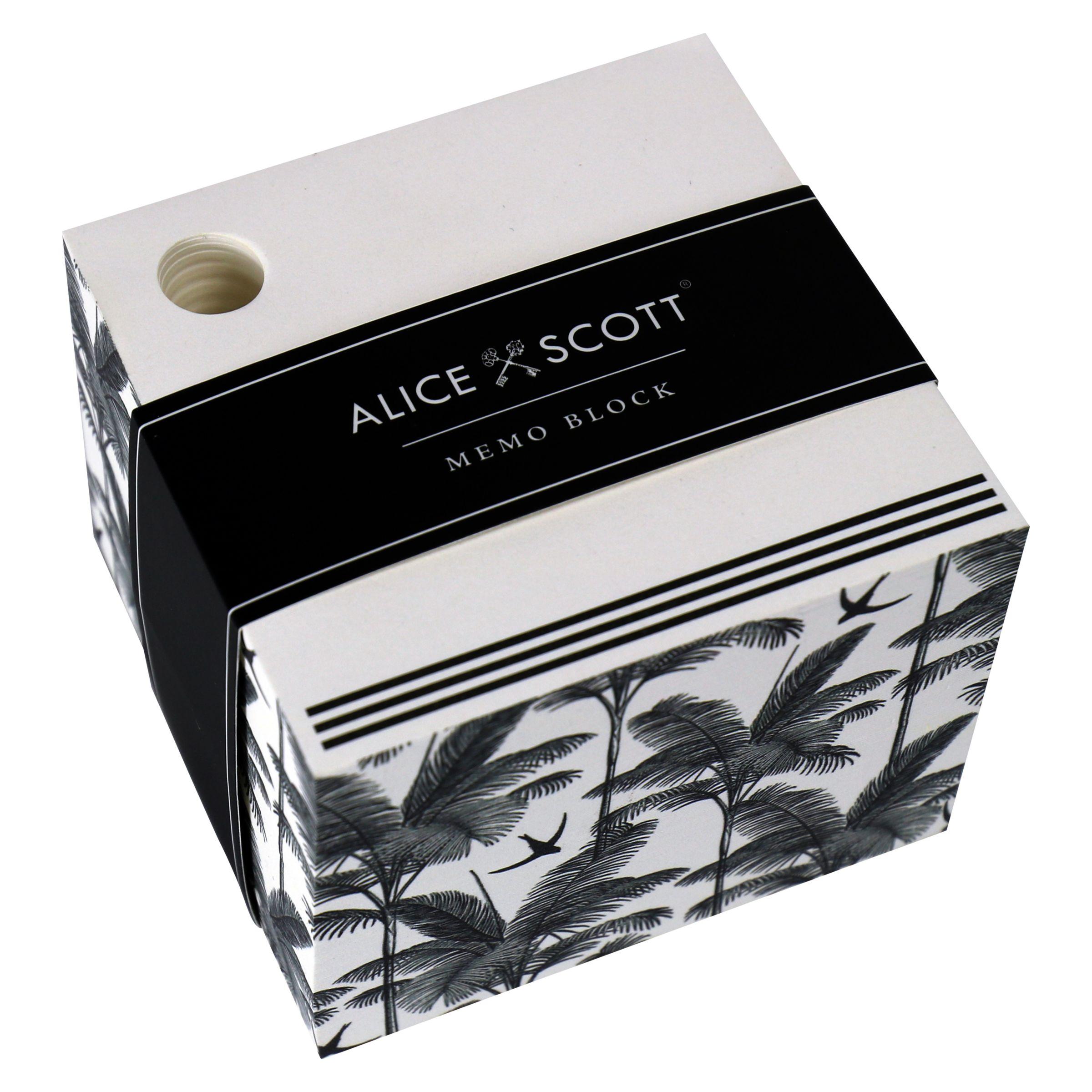 Alice Scott Alice Scott Memo Block